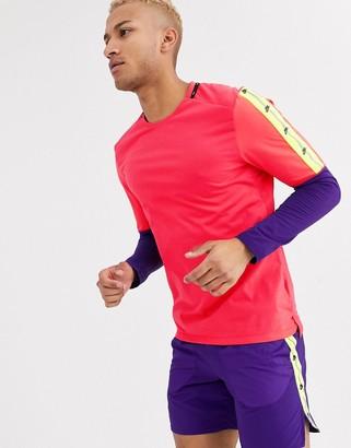 Nike Running Run Wild Pack long sleeve in pink
