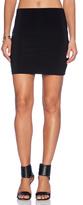 Norma Kamali KAMALIKULTURE Go Mini Skirt