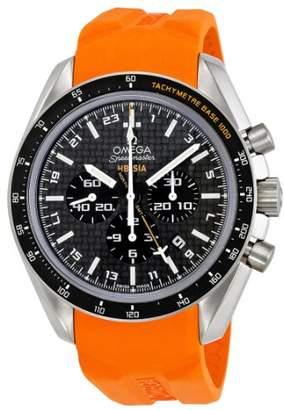 Omega Men's 321.92.44.52.01.003 Speedmaster Carbon Fiber Dial Watch