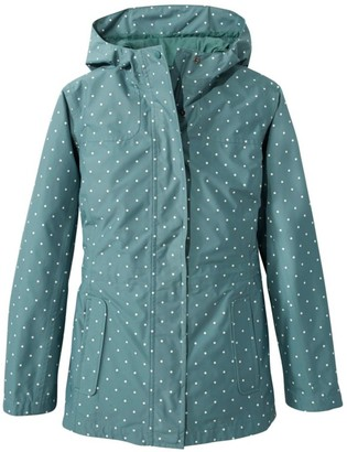 L.L. Bean L.L.Bean Women's H2OFF Rain PrimaLoft Lined Jacket, Print