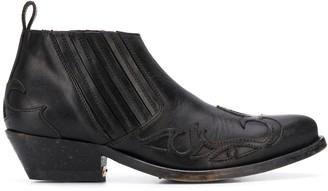 Golden Goose Cowboy Ankle Boots