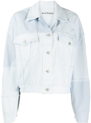 Acne Studios Recrafted patchwork denim jacket