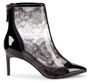 Kurt Geiger London Roma Printed Rubber Ankle Booties