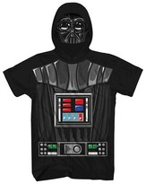 Star Wars Boys' Vader Half Face T-Shirt - Black