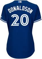 Majestic Ladies' Josh Donaldson Toronto Blue Jays Cool Base Replica Away Jersey - S