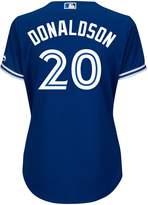 Majestic Ladies' Josh Donaldson Toronto Blue Jays Cool Base Replica Away Jersey - XL