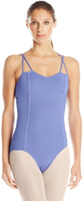 Danskin Women's New York City Ballet Strappy Back Leotard with Princess Seams