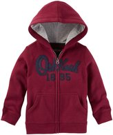 Osh Kosh Zip Up Hoodie (Toddler/Kid) - Red - 4