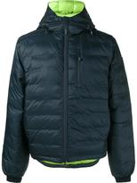 Canada Goose 'Lodge' down jacket - men - Feather Down/Nylon/Polyester/Recycled Polyester - XS