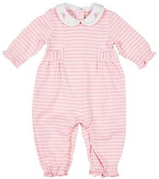Florence Eiseman Baby Girl's Striped Knit Coverall