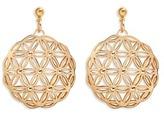 Philippe Audibert 'Lacey' floral cutout drop earrings