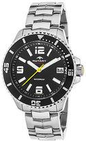 Rotary AGB00074-W-04 Men's Aquaspeed SS Black Dial SS