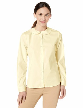Classroom School Uniforms Women LS Peter Pan Blouse
