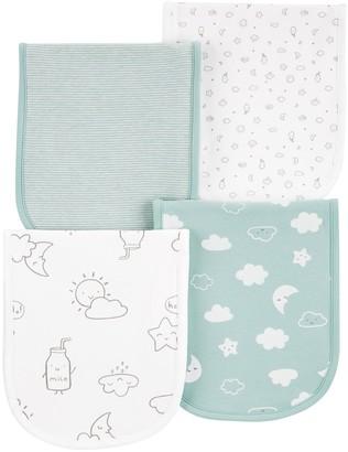 Carter's Baby 4-Pack Cloud Burp Cloths