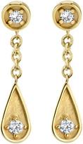 Sydney Evan 14k Diamond Post & Teardrop Earrings
