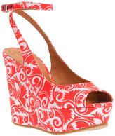 Marc by Marc Jacobs floral wedge sandal