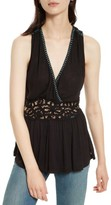 Free People Women's Megan Peplum Tank