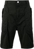 Helmut Lang utility panelled shorts - men - Cotton/Spandex/Elastane - 28