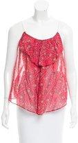 Etoile Isabel Marant Sleeveless Printed Top w/ Tags