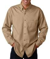 ULTRACLUB 8960 Men's Long-Sleeve Cypress Denim with Pocket