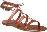 Christian Dior Zodiac Leather Sandal