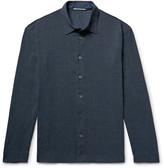 Issey Miyake Crinkled Crepe Shirt