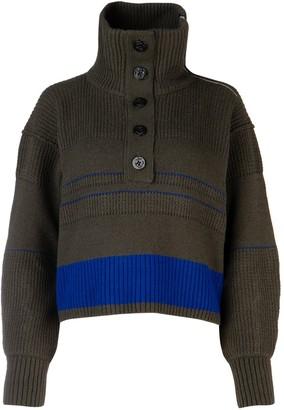 Sacai Turtleneck Sweater