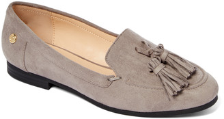 Tahari Girl Women's Loafers GREY - Gray Alessia Loafer - Women