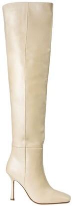 Tony Bianco Halo Vanilla Capretto Long Boots
