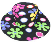 Moschino patterned hat - women - Rayon/other fibers - S