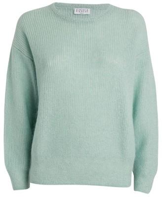 Claudie Pierlot Mohair-Blend Sweater