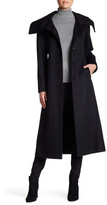 Sofia Cashmere Envelope Collar Wool Blend Coat