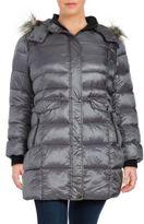 Bernardo Wellon Faux Fur-Trimmed Puffer Coat
