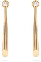 Charlotte Chesnais Falless silver & gold-plated earring