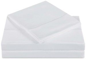 Charisma Closeout! Classic Cotton Sateen 310 Thread Count 4-Pc. Solid Queen Sheet Set Bedding