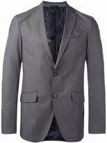 Etro classic blazer - men - Silk/Cotton/Spandex/Elastane/Cupro - 46