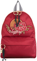 See by Chloe embroidered patch backpack - women - Polyester - One Size