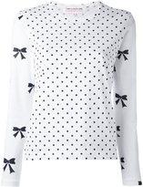 Comme des Garcons polka dots print T-shirt