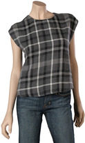 Rory Beca Buttondown Back Top
