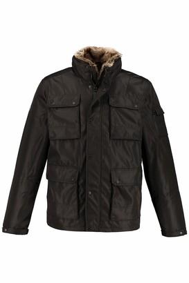 JP 1880 Men's Big & Tall Padded Jacket Black X-Large 723364 10-XL