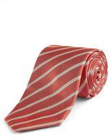 Jaeger Silk Interest Stripe Tie