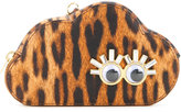 Sophie Hulme leopard print Cloud coin purse - women - Calf Leather - One Size