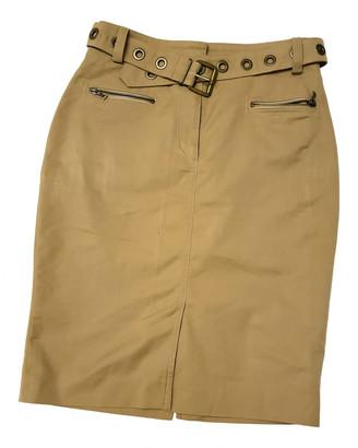 Hermes Beige Wool Skirts