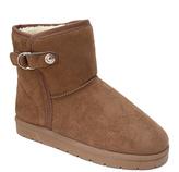 Camel Buckle Boot