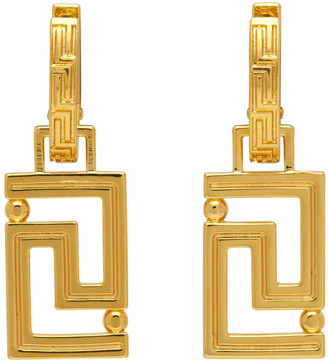 Versace Gold Empire Earrings