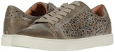 Frye Ivy Deco Stud Low Lace (Beige Waxed Vintage Suede) Women's Lace up casual Shoes