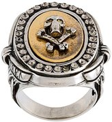 Alexander McQueen skull and crossbones ring