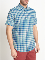 John Lewis Lincot Gingham Short Sleeve Shirt
