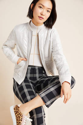 Marrakech Cozy Quilted Bomber Jacket