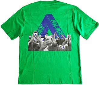 Palace Green Cotton T-shirts